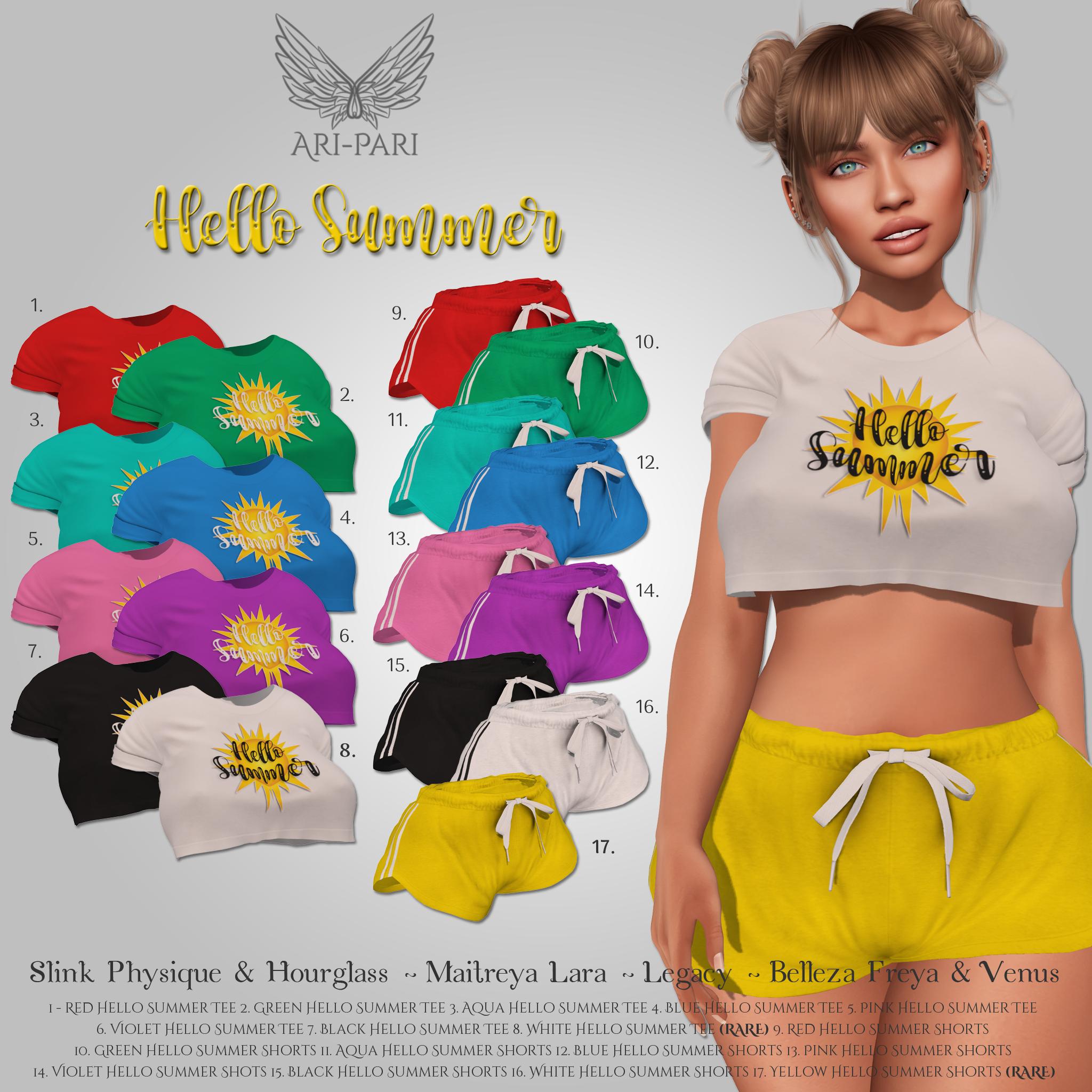 [Ari-Pari] Hello Summer Gacha