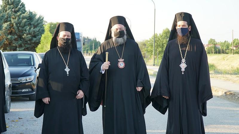 Εγκαίνια Ιερού Ναού Αγίου Οικουμενίου Σεισμοπλήκτων Τρικάλων 5.6.2021