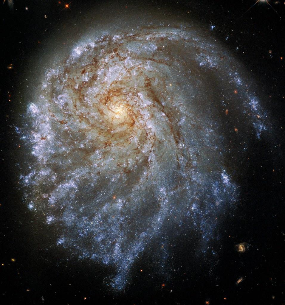 Hubble Views Lopsided Galaxy NGC 2276
