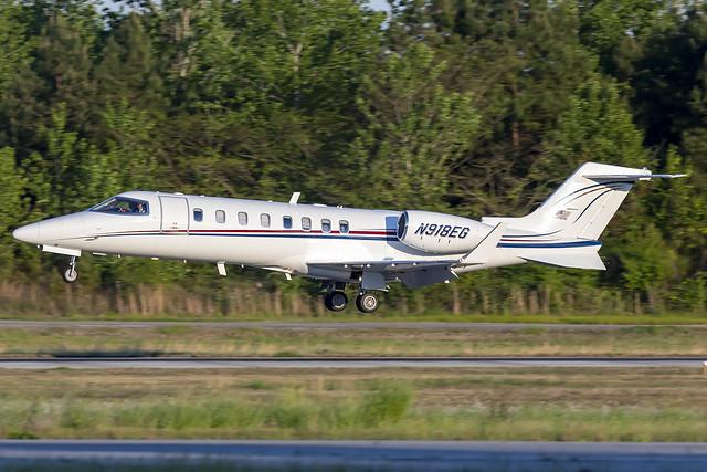 N918EG - Learjet 45 - KPDK - Apr 2021