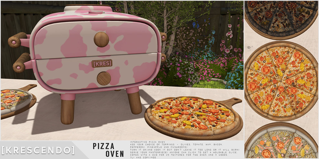 [Kres] Pizza Oven