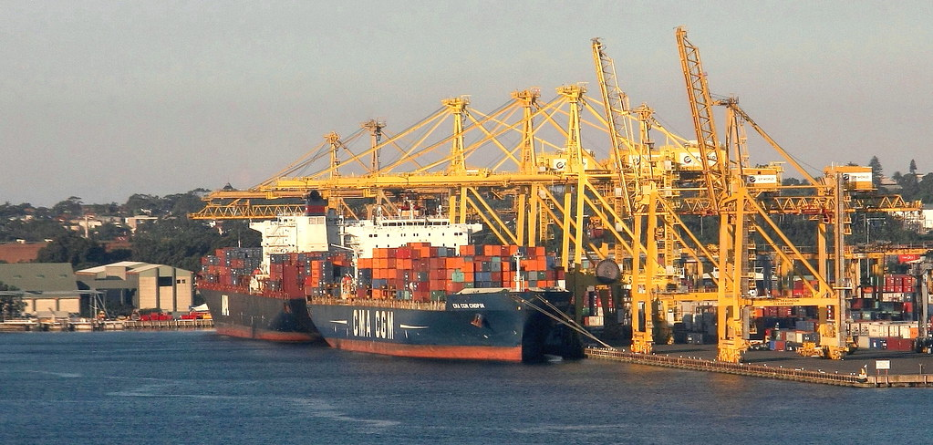 CONTAINER SHIPS PORT BOTANY NSW