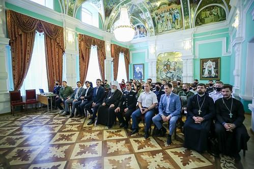 04 июня 2021, В епархиальном управлении прошел обучающий семинар для представителей казачьей молодежи Северо-Кавказского федерального округа