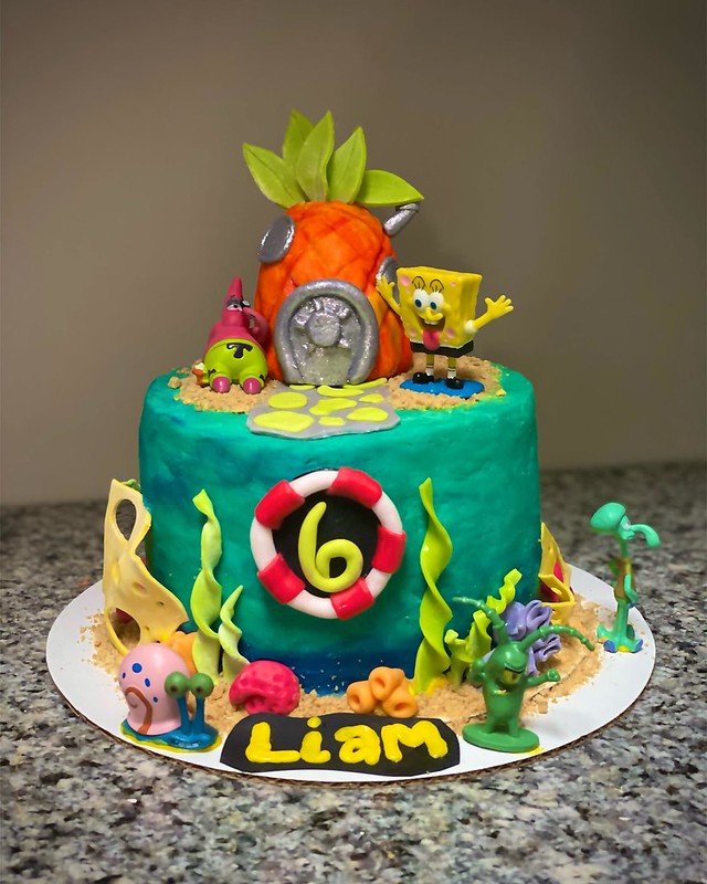 Cake by Yellow Rose Bakery