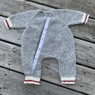 I finished my Sock Monkey version of Baby Bear by Cocoknits!!