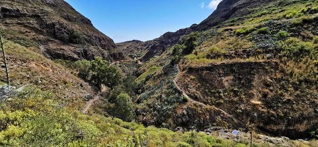 Senderismo Barranco de las Boticarias Gran Canaria 09