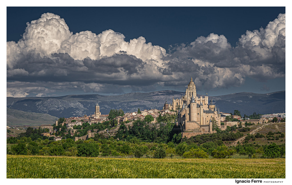 Segovia today in the afternoon