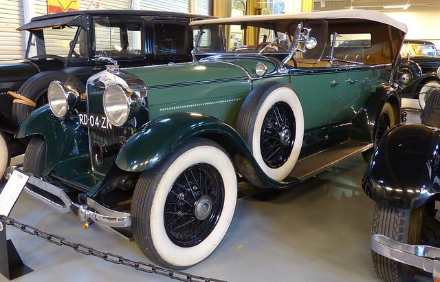 1930 Lincoln MODEL L 177 SEVEN PASSENGER TOURING vl2