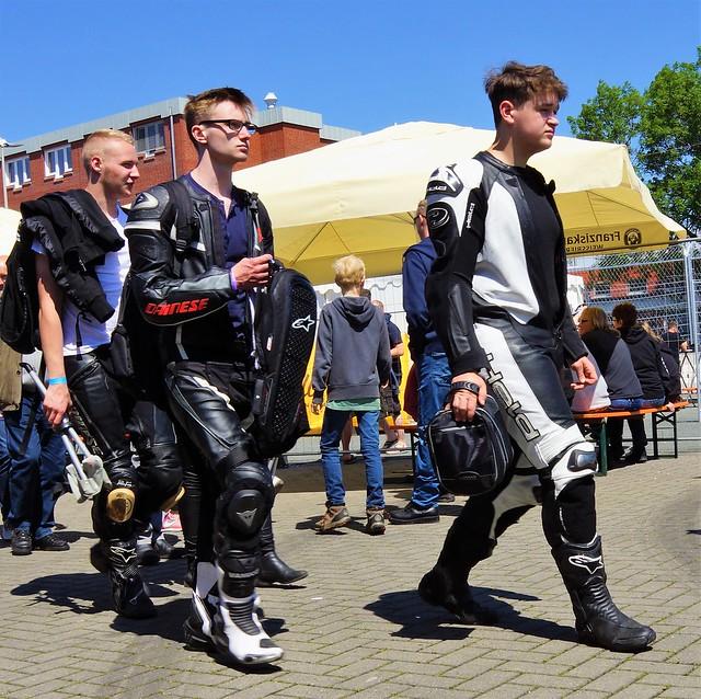 3 German biker friends in Bremerhaven June 4. 2017 (5)