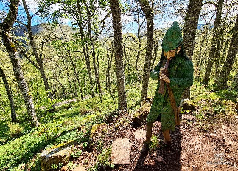 Senda Mitológica y mirador de Santa Catalina en Cantabria (11)