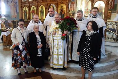 55-lecie posługi kapłańskiej o. mitrata Walentego Olesiuka