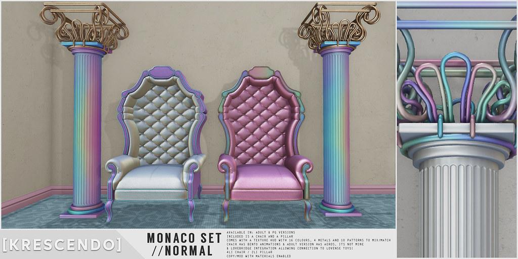 [Kres] Monaco Set - Normal