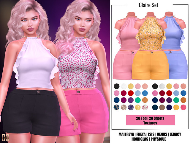 Hilly Haalan - Claire Set
