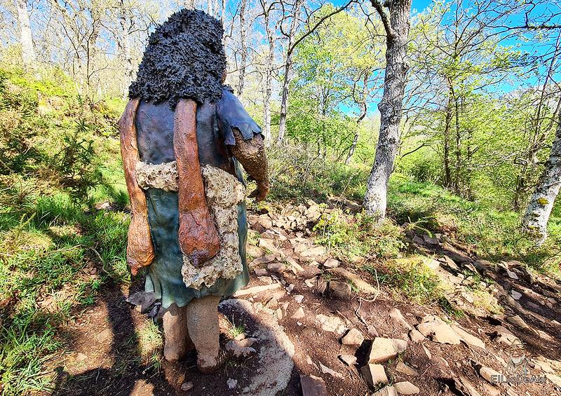Senda Mitológica y mirador de Santa Catalina en Cantabria (8)