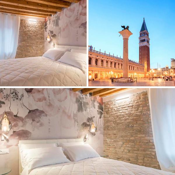 Hermes San Marco, habitaciones con vistas en Venecia