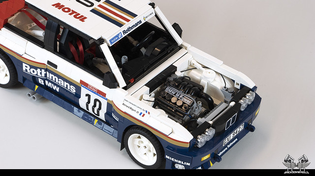 1987 BMW M3 Rally (Lego 1:11)