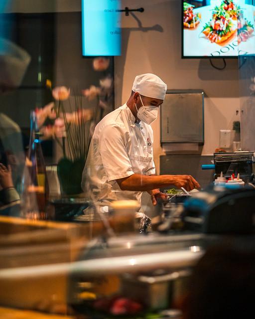 Kitchen 2 — sushi chef
