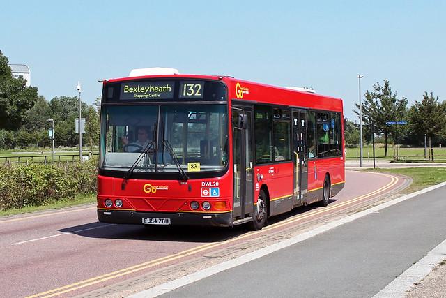 Route 132, Go Ahead London, DWL20, FJ54ZDU