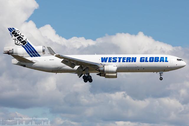 N542KD Western Global Airlines McDonnell Douglas MD-11F (FRA - EDDF - Frankfurt)