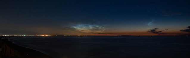 Noctilucent Clouds Over Teesbay