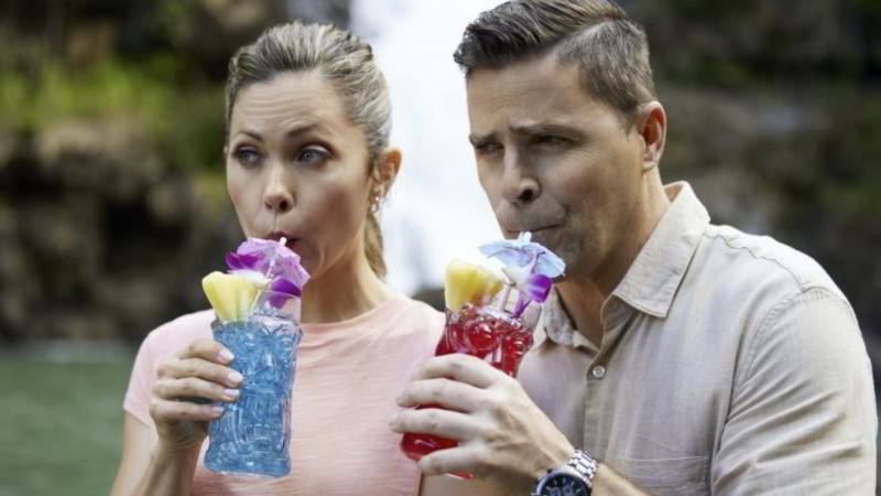 Pascale Hutton and Kavan Smith