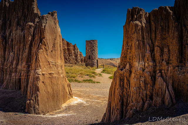 Rock Tower at Cathedral Gorge