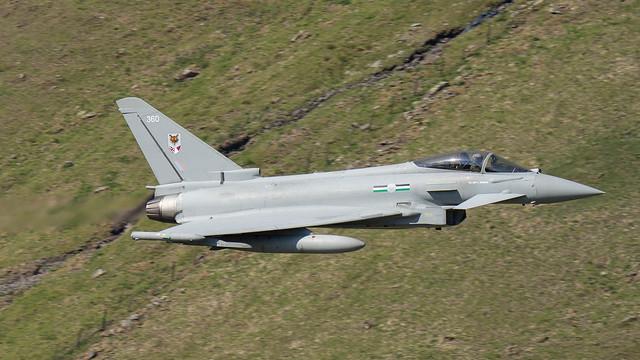 12 Sqn RAF Typhoon ZK360