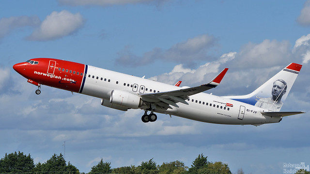 Norwegian 🇳🇴️ Boeing 737-800 EI-FJV