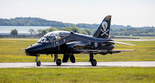 100 Sqn Centenary anniversary Hawk T1.