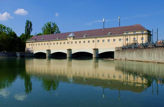 Munich - Stauwehr Oberföhring