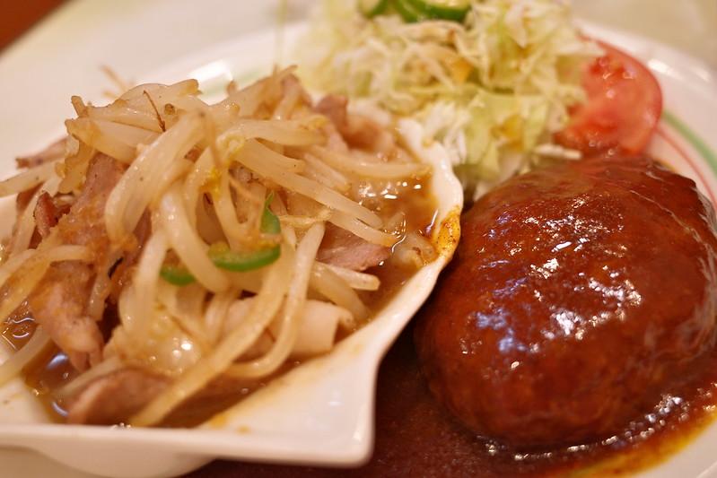 food festival Toyo「食の祭典 とうよう」でハンバーグ&しょうが焼きランチ