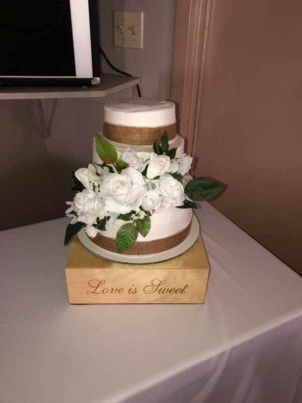 Cake by Momma's Boy Bakery