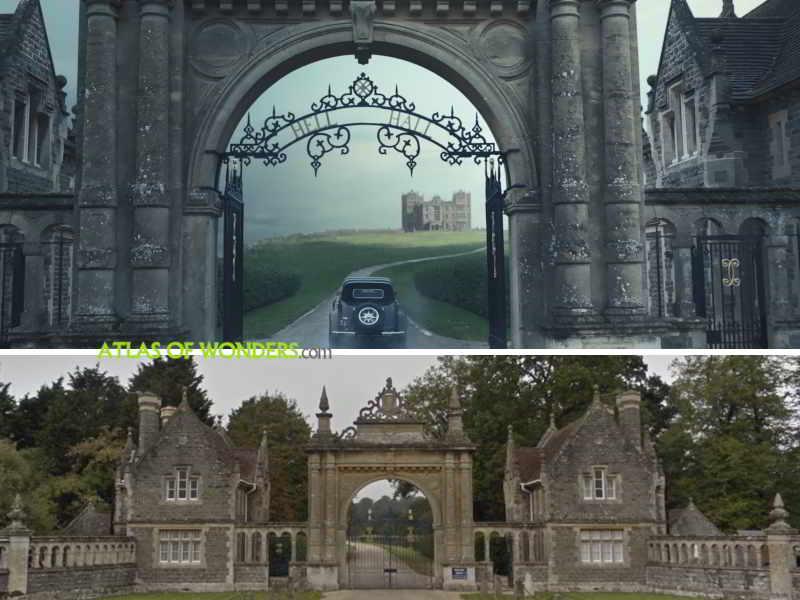 Hell Hall gates
