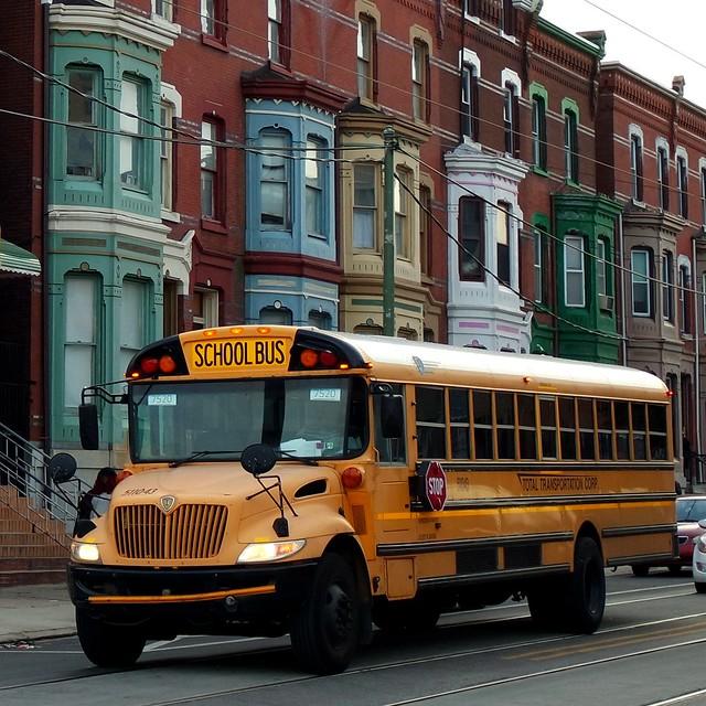 School bus in Philadelphia