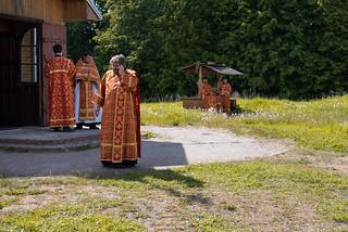 05.06.2021 | Литургия в Клопском монастыре