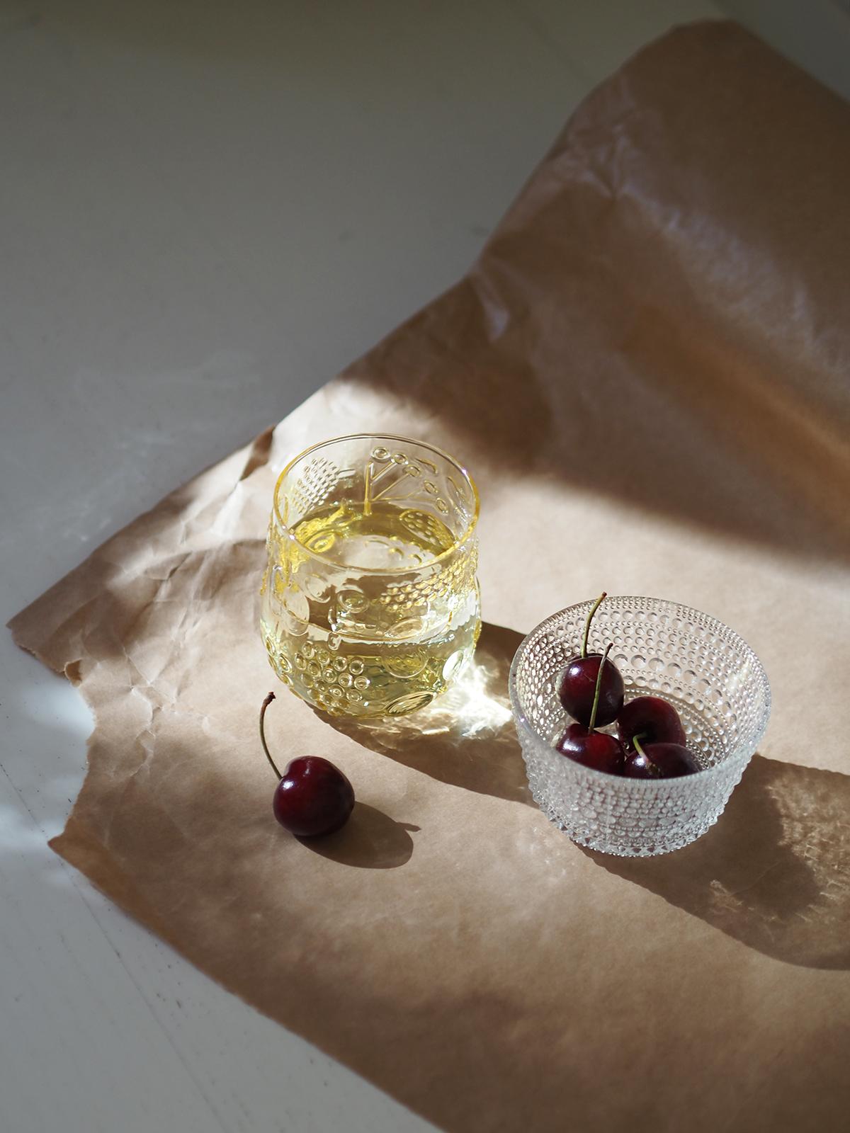 Frutta keltainen lasi