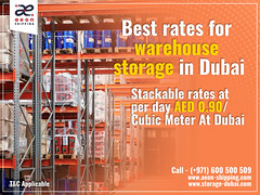 Best rates for warehouse storage in Dubai