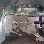 Sulmona (AQ), 2000, Eremo di Sant'Onofrio al Morrone. Le celle eremitiche.