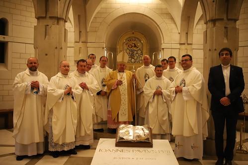 15. rocznica święceń kapłańskich w Sanktuarium św. Jana Pawła II w Krakowie 05.06.2021 r.