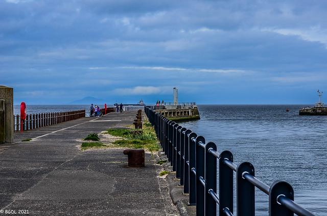 365 ~ 156 ... Along The Pier!