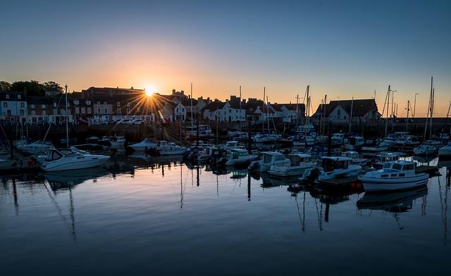 Sun Star, Anstruther Harbour, Anstruther, Fife, Scotland, UK