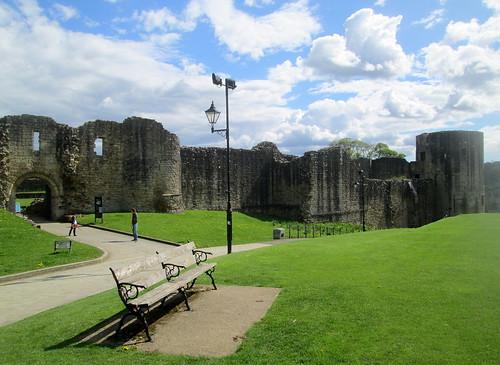 Barnard Castle,County Durham, castle ruin