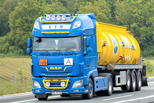 DAF XF116 superspacecab, fromE.T.R., Germany.