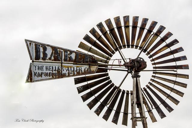 Rural Americana on display through windmills