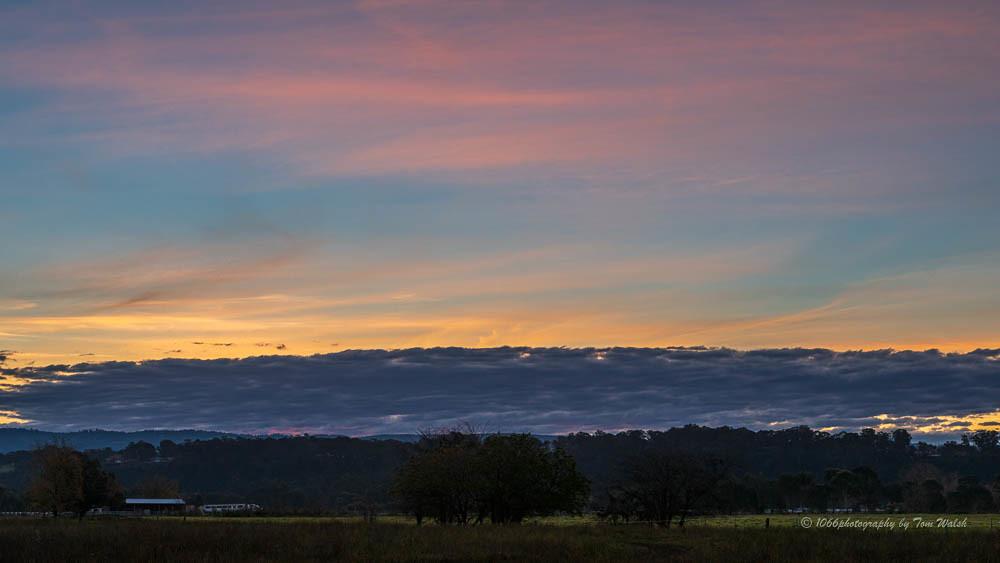 Richmond Lowlands Sunset ....