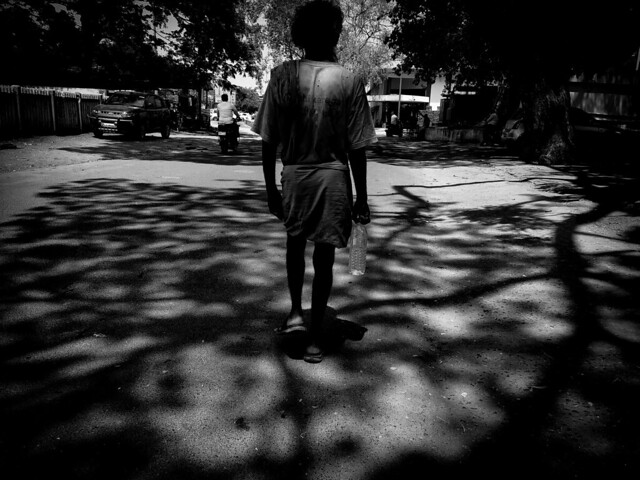 Through the shadows of life