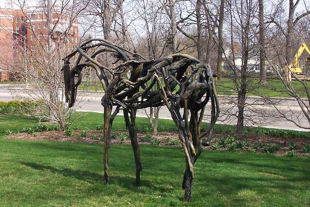 Toledo Ohio - United States - Toledo Museum of Art - Sculpture - Deborah Butterfield