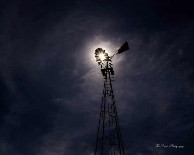 Rural Americana on display through windmills (in Explore)