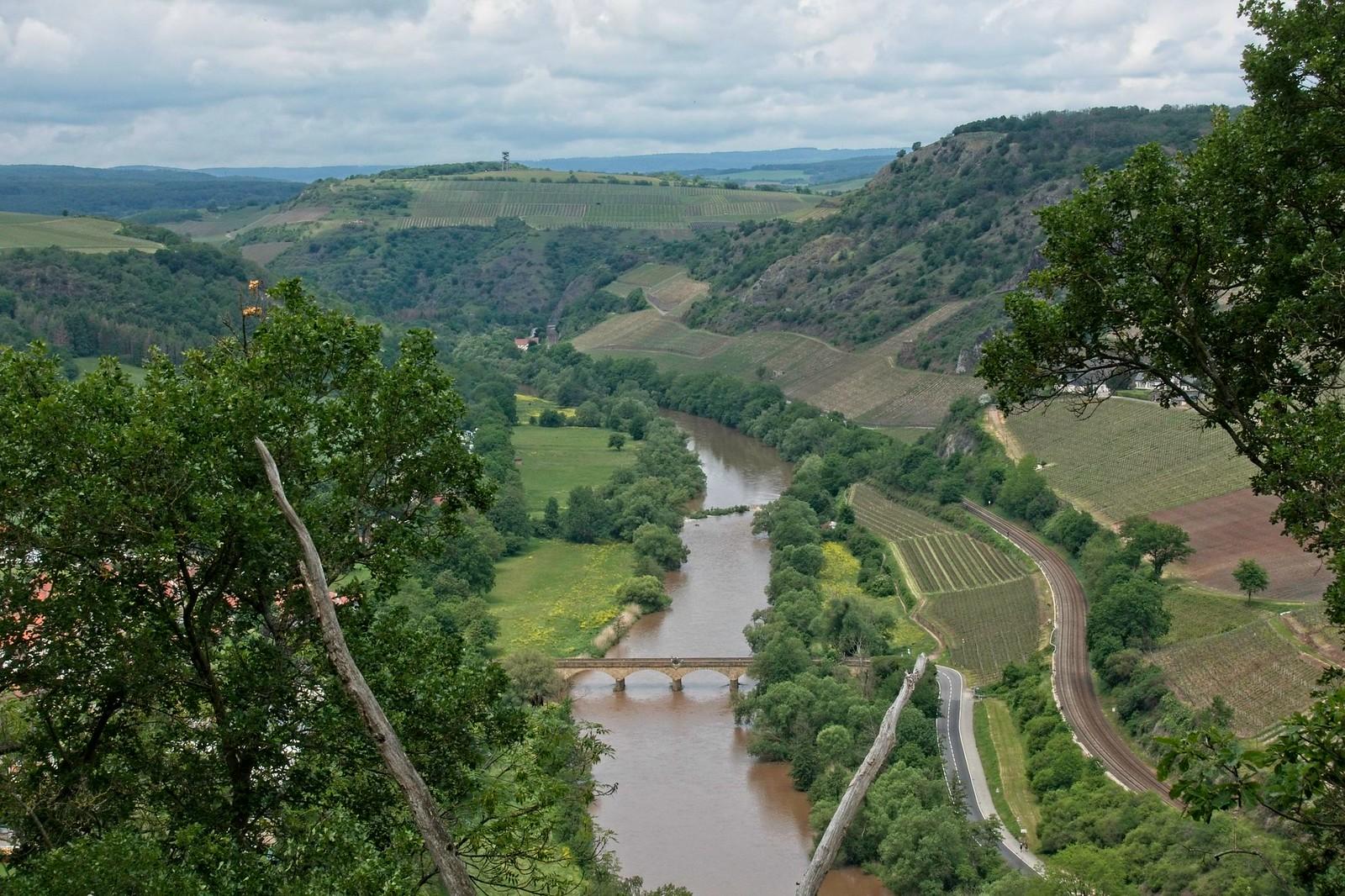 Luitpoldbrücke über die Nahe - Vitaltour Geheimnisvoller Lemberg