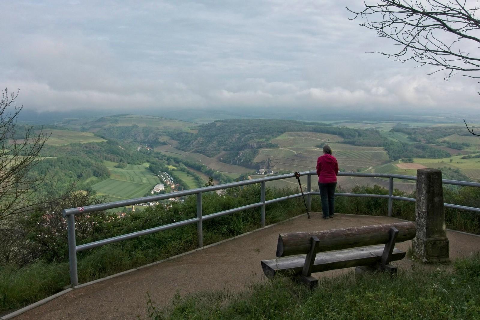 Aussichtspunkt an der Lemberghütte: Oberhausen und Nahe